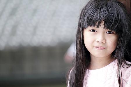 beautiful, child, cute, girl, portrait, pretty, young