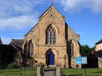 metodista, templom, Front, vallás, építészet, kereszténység, épület