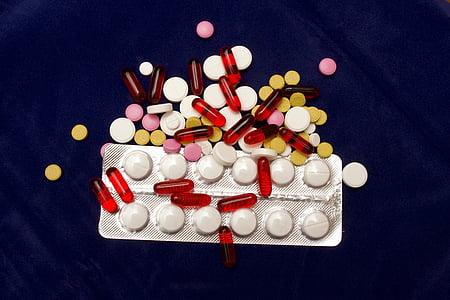 pil, obat, Kesehatan, medis, obat, farmasi, kapsul