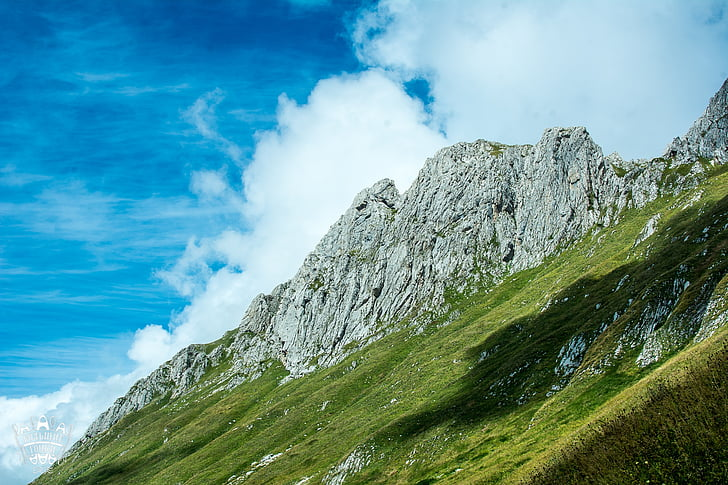 muntanyes, muntanyes d'Abkhàzia, Abkhàzia, pedres, natura, paisatge, altiplà aràbica