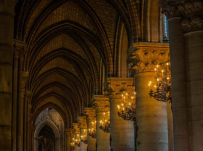 Notre-dame, Catedral, França, Dame, l'església, Notre, París