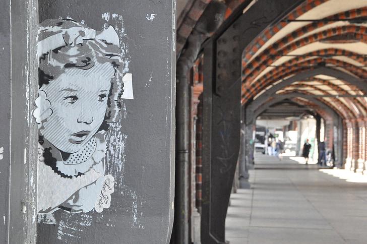 Street art, graffiti, fal, spray, színes, Városi Művészeti, homlokzat
