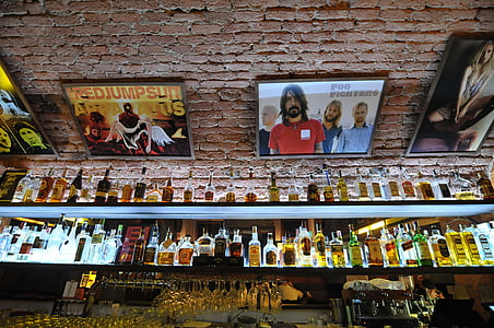 Baar, alkoholi, pudelid, pool, pubi, kokteil, alkohoolsed