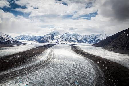 frio, paisagem, montanha, natureza, ao ar livre, estrada, cênica