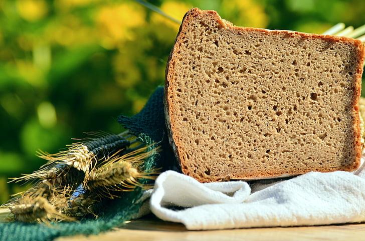 leib, teravilja, Küpseta, küpsetatud, Päts leiba, Käsitöö, toitumine