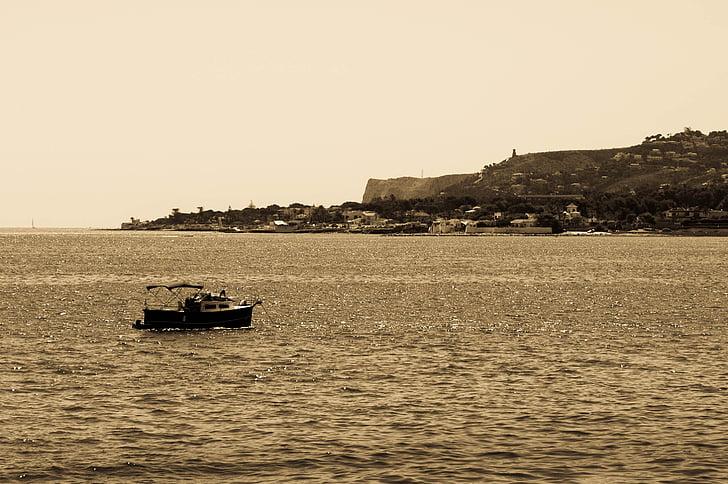 Denia, morje, sredozemski, pristanišče dénia, vzhod, krajine, je