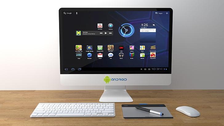 PC, počítač, Android, Android pc, Internet, Výpočtová technika, Business technologies