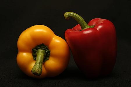 lauksaimniecība, Bell peppers, Capsicum, krāsains, krāsainiem, ēdiena gatavošanai, Diēta