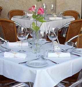 menjador, taula, Restaurant, menjador, taula de menjador, menjar, aliments