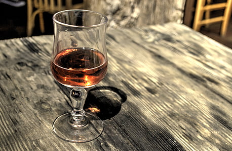 alcohol, alcoholic, dinner, drinking, glass, hdr, rose wine
