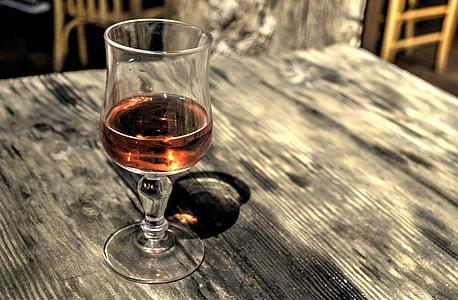alkoholi, alkohoolsed, õhtusöök, joomine, klaas, HDR, Roosad veinid, hülged