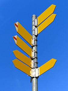 panells, directori, Direcció del camí, camins, Direcció, sender, Direcció de destí