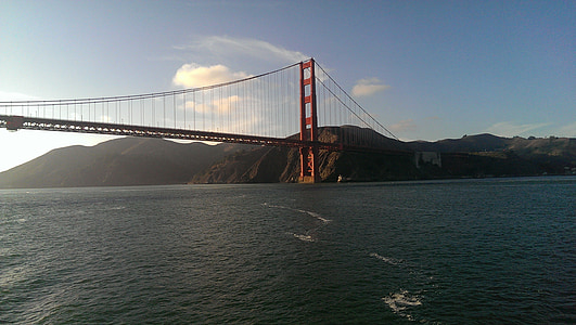 pont Golden gate, san francisco, pont penjant, àrea de la badia, Pont, arquitectura, disseny d'arquitectura