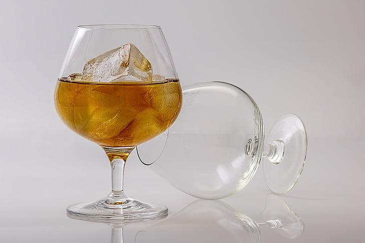 Brandy, konjakit, alkoholi, jook, kokteil, likööri, klaas