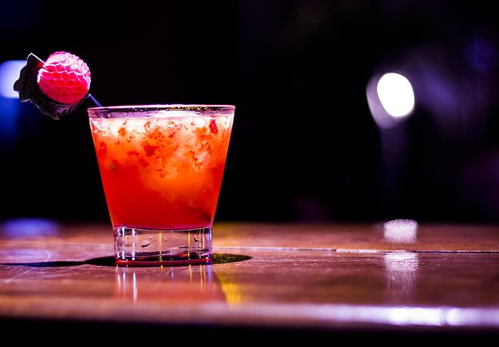 Baar, jook, kokteil, saquerinha, Värskendav, alkoholi, joogiklaasi