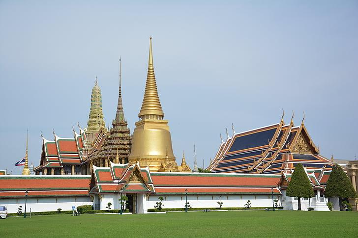 Храм Смарагдового Будди, притягнення туриста, Палац, Таїланд
