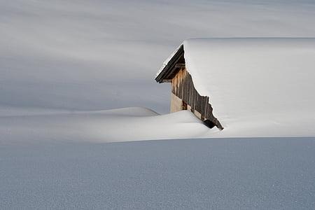 winter, snow, nature, mountains, austria, tyrol, ski tour