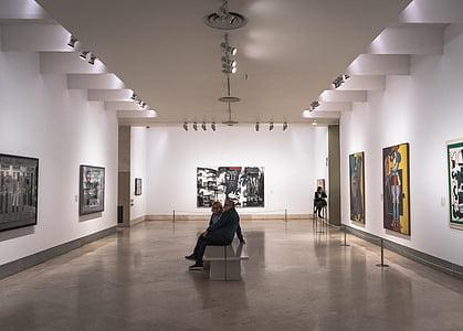 muuseum, pildid, Art, Madrid, Vaatama, õli, lõuend, näitus