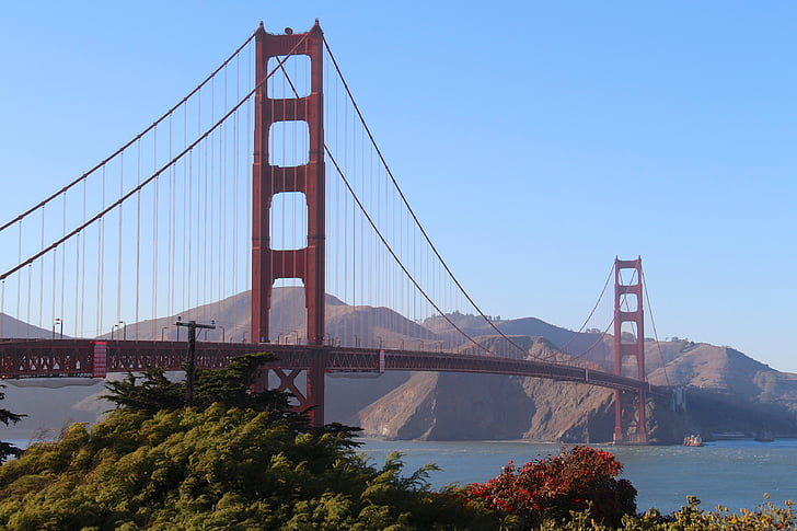 Bridge, Golden gate, San francisco, Kalifornien, USA, San Francisco County, berömda place