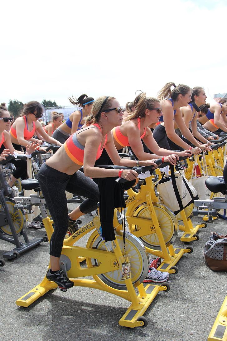 spinning, Cyklistika, Šport, Spin, cyklus, fitness, zdravé