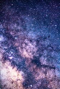 shallow, photography, milky, way, stars, galaxy, milky way