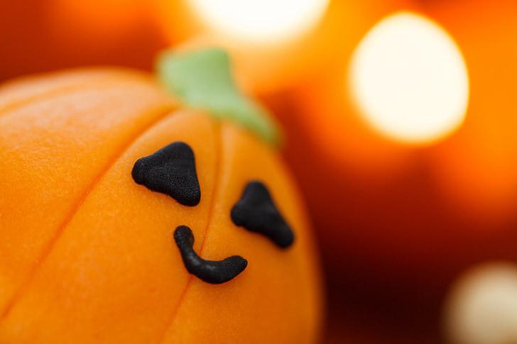 jauks, pārtika, Halloween, deserts, brīvdiena, oranža, ārstēšanai