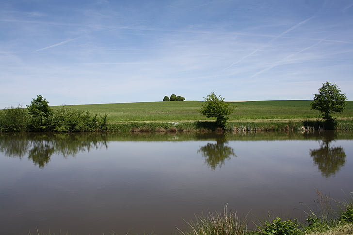 rest, lake, water, silent, mirroring