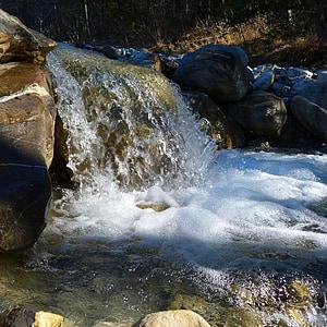 vee, loodus, jõgi, vooluveekogude, juga, Cascade