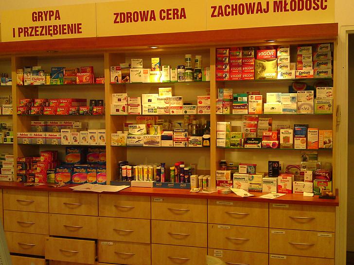 medicaments, Farmàcia, comprimits, la píndola