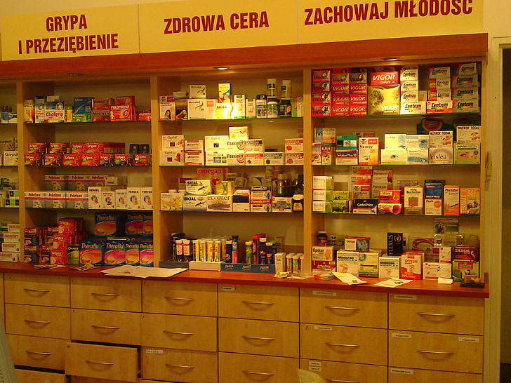 léky, lékárna, tablety, pilulka