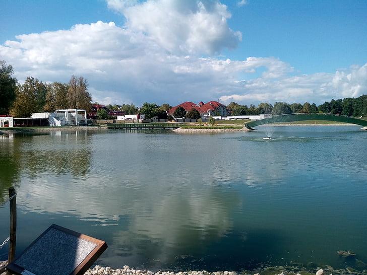Λίμνη, κατηγοριοποίηση, επιφάνεια του νερού, προκυμαία
