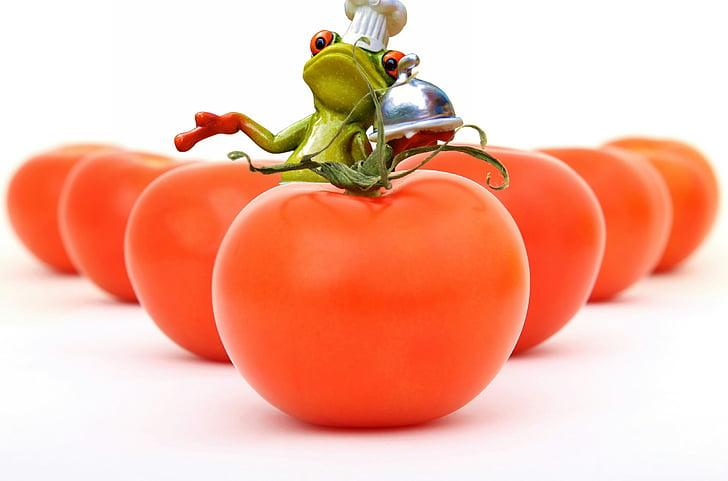 cà chua, nấu ăn, ếch, nấu ăn, khỏe mạnh, thực phẩm, chuẩn bị