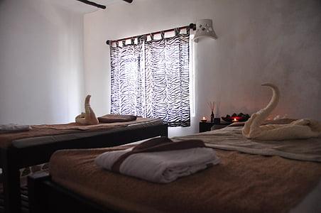 velvære, Spa, afslapning, massage