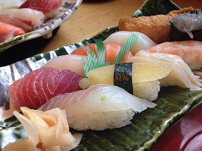 sushi, Japó, aliments de Japó, menjar japonès, peix, aliments, marisc