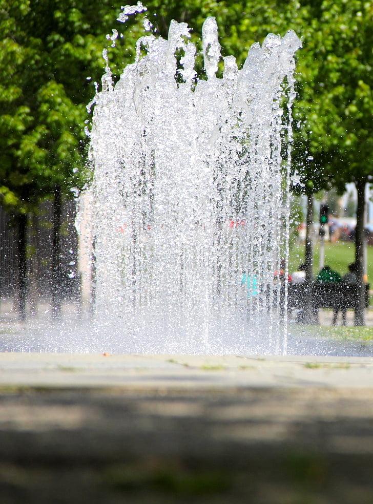 fontän, vatten, Fountain city, vatten-funktionen