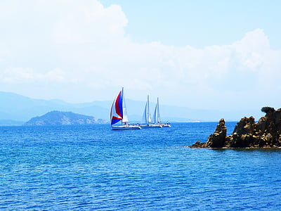 Mar, vaixell, bota, l'aigua, Powerboat, Portuària, brúixola