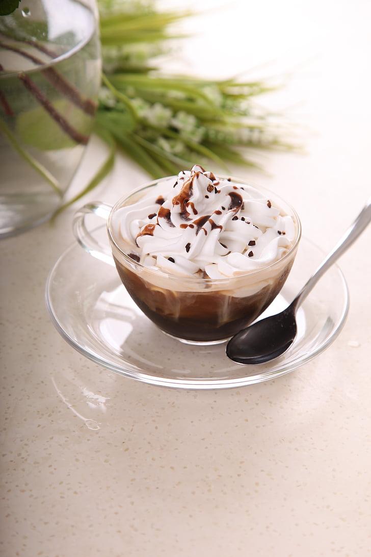 crème glacée, dessert, boissons froides, alimentaire, crème, Gourmet, chocolat