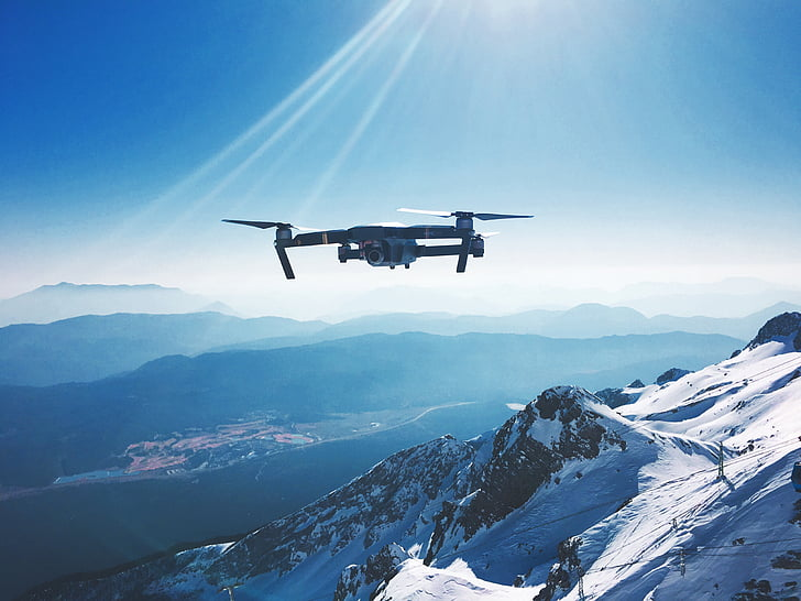 adventure, air, aircraft, altitude, cold, daylight, drone