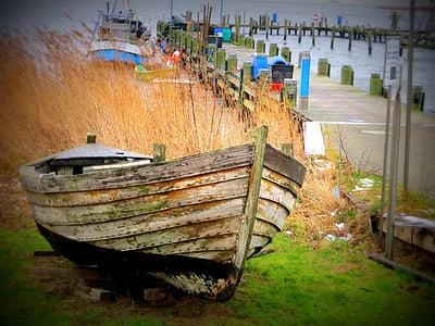 boot, Laut Baltik, Pantai, kapal, perahu nelayan, liburan, air