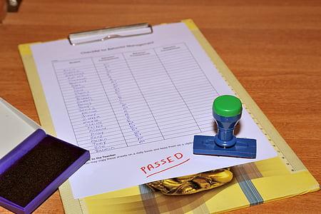 avaluació, examen, passat, llista, assoliment, valoració, l'educació