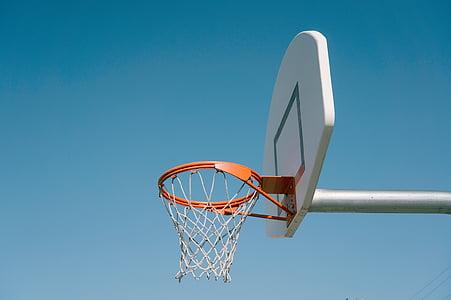 esports, bàsquet, anelles, anell, cel, Junta, esport