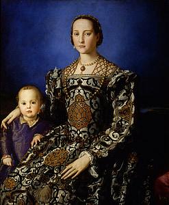 เอโตเลโด, ผู้หญิง, เด็ก, แม่, ภาพวาด, น้ำมันผ้าใบ, สีน้ำมัน