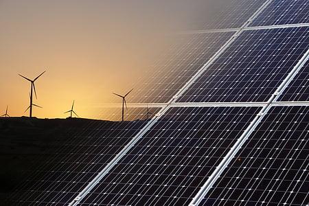 renovables, energia, medi ambient, vent, solar, verd, poder