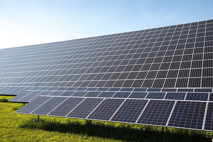 zonnecellen, huidige, fotovoltaïsche, Eco-elektriciteit, energierevolutie, elektriciteitsproductie, Elektriciteitscentrale