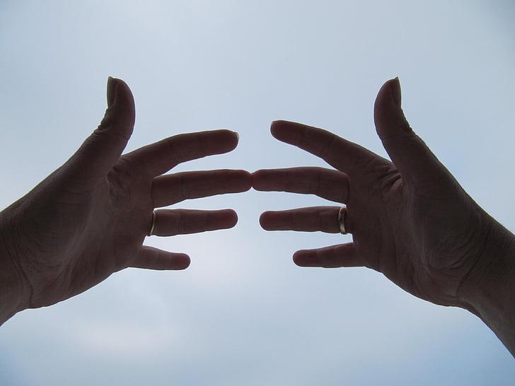 bàn tay, Máy, tinh thần