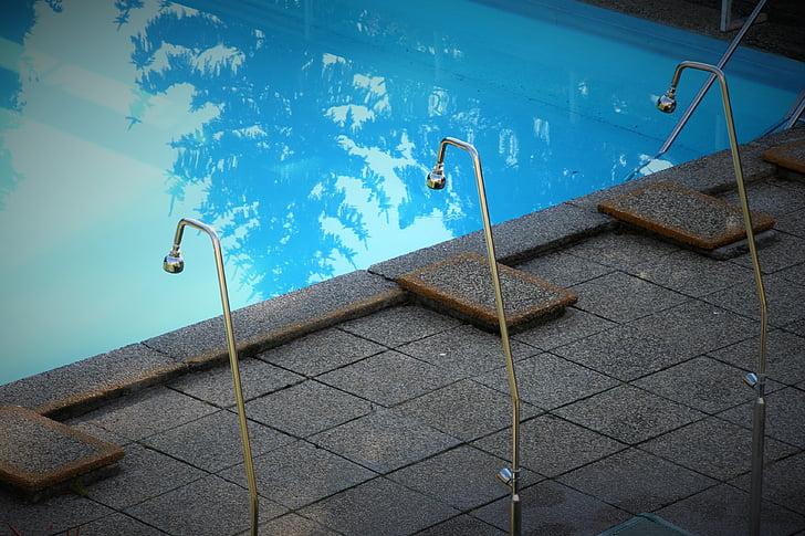 basseng, vann, avslapning, svømme, Spa