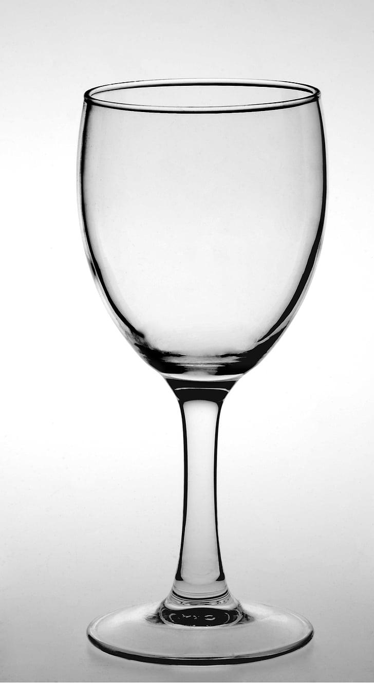 klaasnõud, stemware, veini klaasi, joogiklaasi, Wineglass, jook