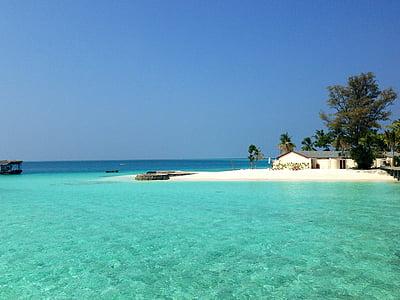 beach, maldives, sea, water, island, vacations, summer