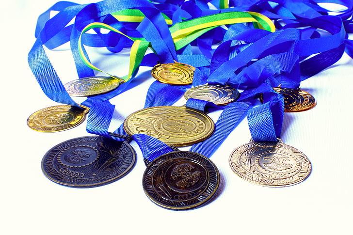 medal, awards, honor, merit, winner, champion, school olympics