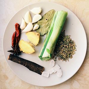 ingredients, gurmet, plat